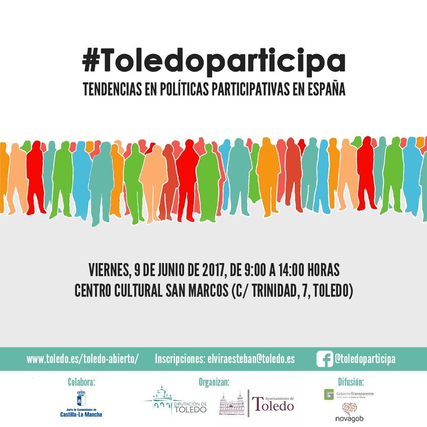 http://www.toledo.es/wp-content/uploads/2017/05/cartel-jornada.jpg. I Jornada de Participacion Ciudadana
