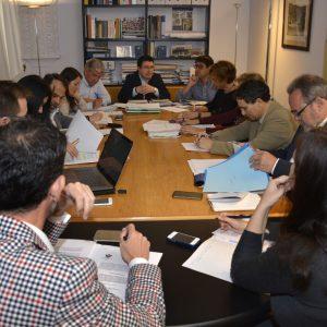 Ordenanza de Ocupación de vía pública, estudio de vivienda y promoción económica, asuntos de la Comisión de Urbanismo