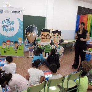 l Ayuntamiento y Tagus estrenan la segunda edición de 'El Curso del Agua' incluido en el Toledo Educa