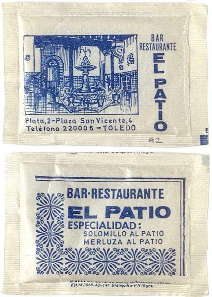 32 – De azucarillos: Establecimientos hosteleros de Toledo y su provincia en la década de 1980