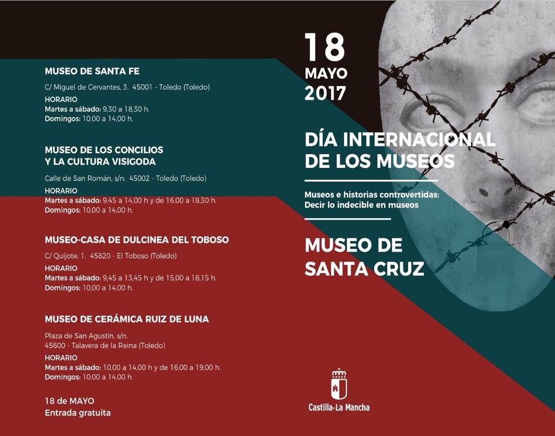 DÍA INTERNACIONAL DE LOS MUSEOS. MUSEO DE SANTA CRUZ  Y SUS FILIALES