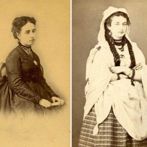Dos mujeres, dos fotógrafos (Toledo, 1870)