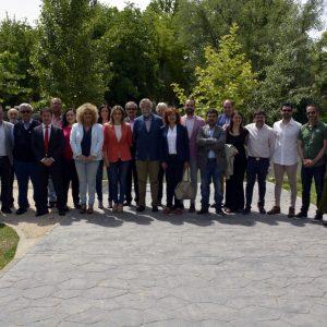 """a alcaldesa de Toledo apela a la unidad de los municipios del Tajo para acabar con """"el olvido y las agresiones a nuestro río"""""""