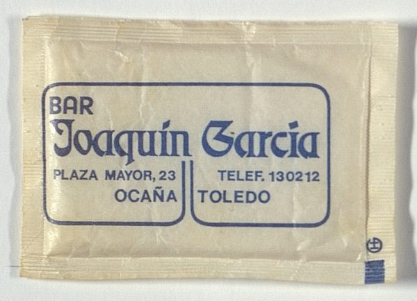 OCAÑA - Bar Joaquín García. Plaza Mayor, 23