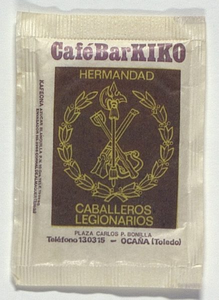 OCAÑA - Café-Bar Kiko Hermandad Caballeros Legionarios. Pza. Carlos López Bonilla