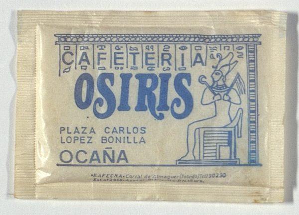 OCAÑA - Cafetería Osiris. Pza. Carlos López Bonilla