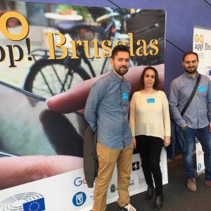 El Ayuntamiento defiende en Bruselas su apuesta por las nuevas tecnologías aplicadas a la participación ciudadana