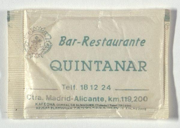 QUINTANAR DE LA ORDEN - Bar-Restaurante Quintanar. Ctra. Madrid-Alicante, 119,2