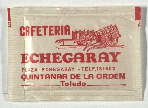 QUINTANAR DE LA ORDEN - Cafetería Echegaray. Pza. Echegaray
