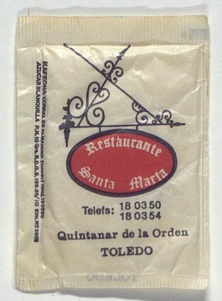 QUINTANAR DE LA ORDEN - Restaurante Santa Marta. Quintanar de la Orden