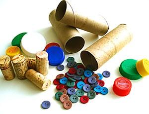 Taller creación de juguetes con material reciclable