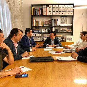 El Gobierno Local abre nuevas líneas de colaboración con la Asociación de Hostelería en el área de desarrollo económico