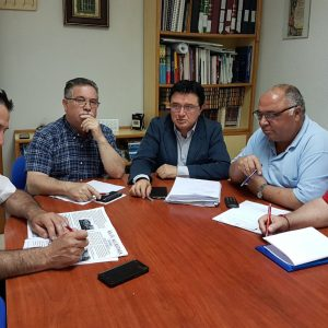 """El equipo de Gobierno repasa con la asociación de vecinos """"Alcántara"""" la situación del barrio de Santa Bárbara"""