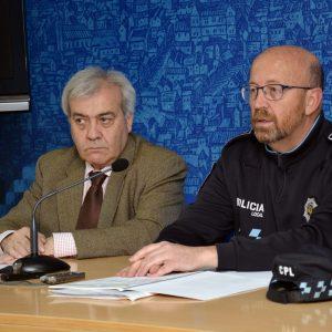 La memoria de la Policía Local destaca la ausencia de accidentes mortales y la persecución del fraude por tarjetas de discapacidad