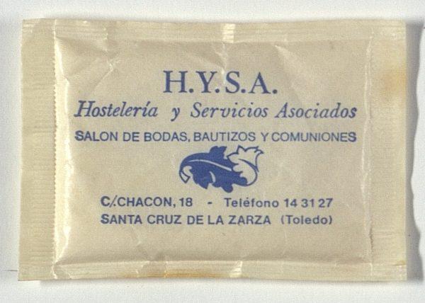 SANTA CRUZ DE LA ZARZA - HYSA Hostelería y Servicios Asociados. Calle Chacón, 18