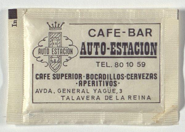 TALAVERA DE LA REINA - Café Bar Auto Estación. Avda. General Yagüe, 3