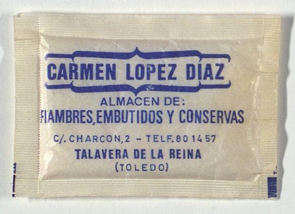 TALAVERA DE LA REINA - Carmen López Díaz Almacén de Fiambres, Embutidos y conservas. Calle Charcón, 2