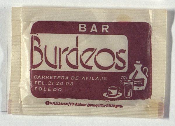 TOLEDO - Bar Burdeos. Carretera de Ávila, 18