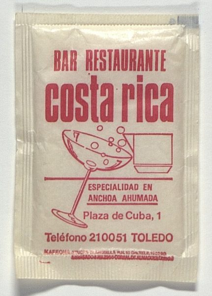 TOLEDO - Bar-Restaurante Costa Rica. Plaza Cuba, 1