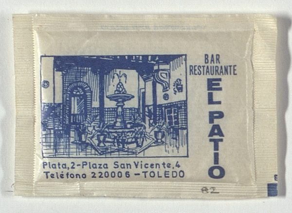 TOLEDO - Bar-Restaurante El Patio. Pza. San Vicente, 4