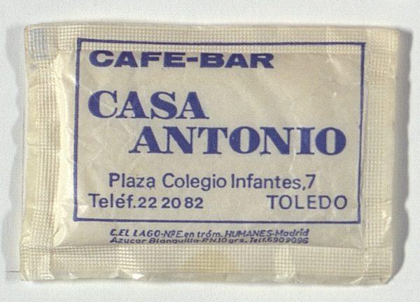 TOLEDO - Café-Bar Casa Antonio. Colegio de Infantes, 7