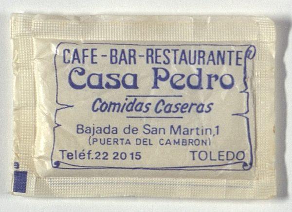 TOLEDO - Café-Bar Restaurante Casa Pedro. Bajada de San Martín, 1
