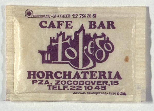 TOLEDO - Café-Bar Toledo. Pza. Zocodover, 15