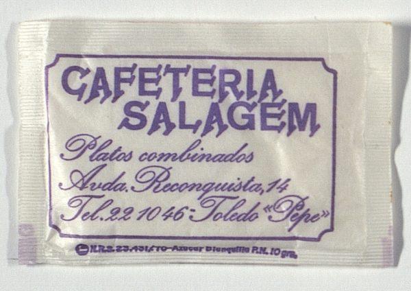 TOLEDO - Cafetería Salagem. Avda. Reconquista, 14