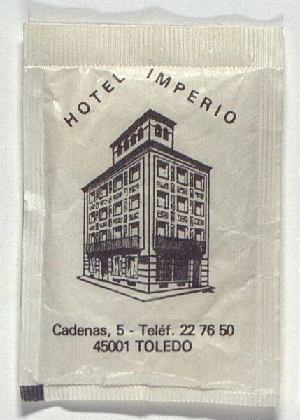 TOLEDO - Hotel Imperio. Calle Cadenas, 5