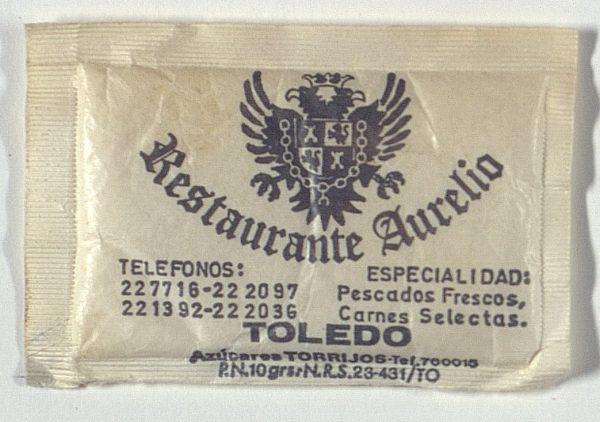 TOLEDO - Restaurante Aurelio. Pza. del Ayuntamiento