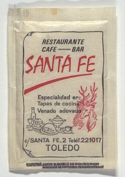 TOLEDO - Restaurante Café-Bar Santa Fe. Calle Santa Fe, 2