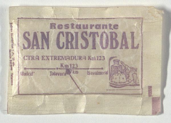 TOLEDO - Restaurante San Cristóbal. Ctra. Extremadura, km 123