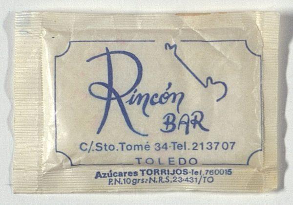 TOLEDO - Rincón Bar. Calle Santo Tomé, 34
