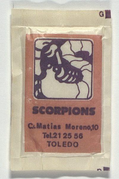 TOLEDO - Scorpions. Calle Matías Moreno, 10