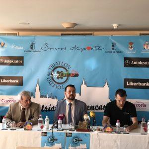 """La segunda edición de """"Toledo es Triatlón"""" congregará en Toledo el próximo 4 de junio a 150 atletas de la especialidad"""