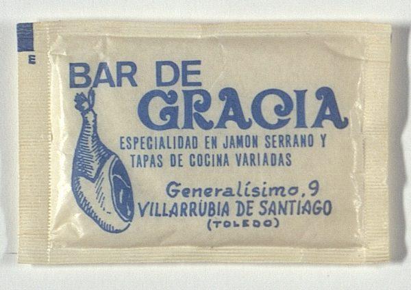 VILLARRUBIA DE SANTIAGO - Bar de Gracia. Generalísimo, 9