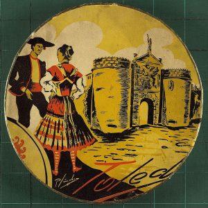 33 - Toledo en las cajas de mazapán