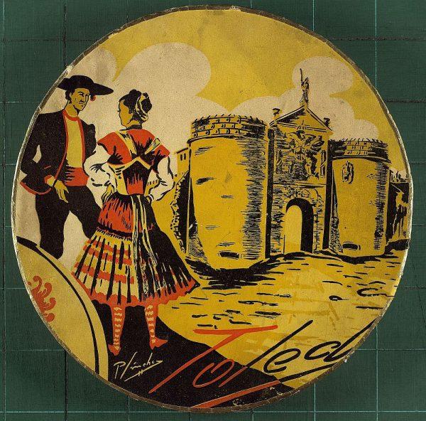 33 – Toledo en las cajas de mazapán