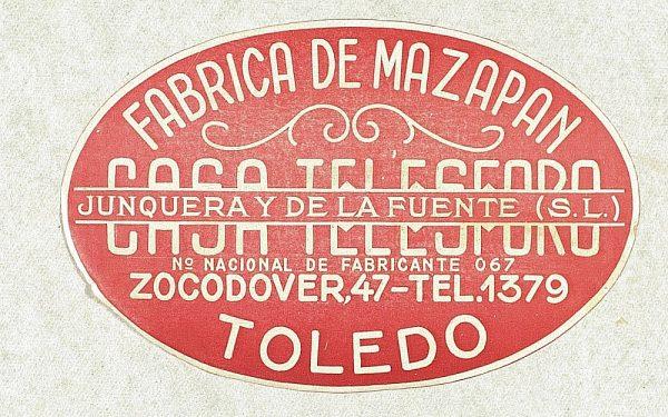 10 - Fábrica de mazapán Casa Telesforo - Zocodover 47_Detalle