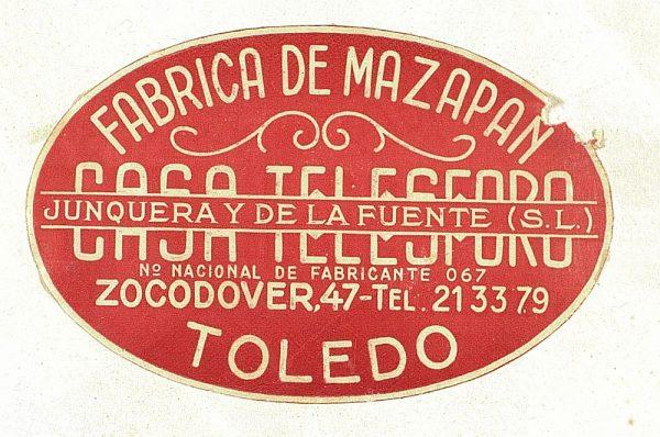 13 - Fábrica de mazapán Casa Telesforo - Zocodover 47_Detalle