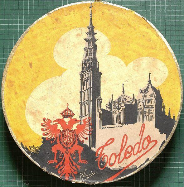 32 - Caja de mazapán de Toledo