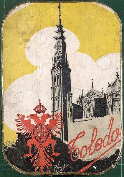 33 - Caja de mazapán de Toledo
