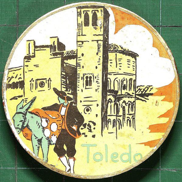 34 - Caja de mazapán de Toledo
