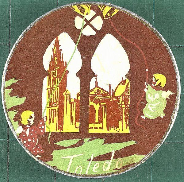 36 - Caja de mazapán de Toledo