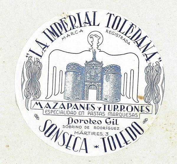 44 - Mazapanes La Imperial Toledana - Sonseca_Detalle