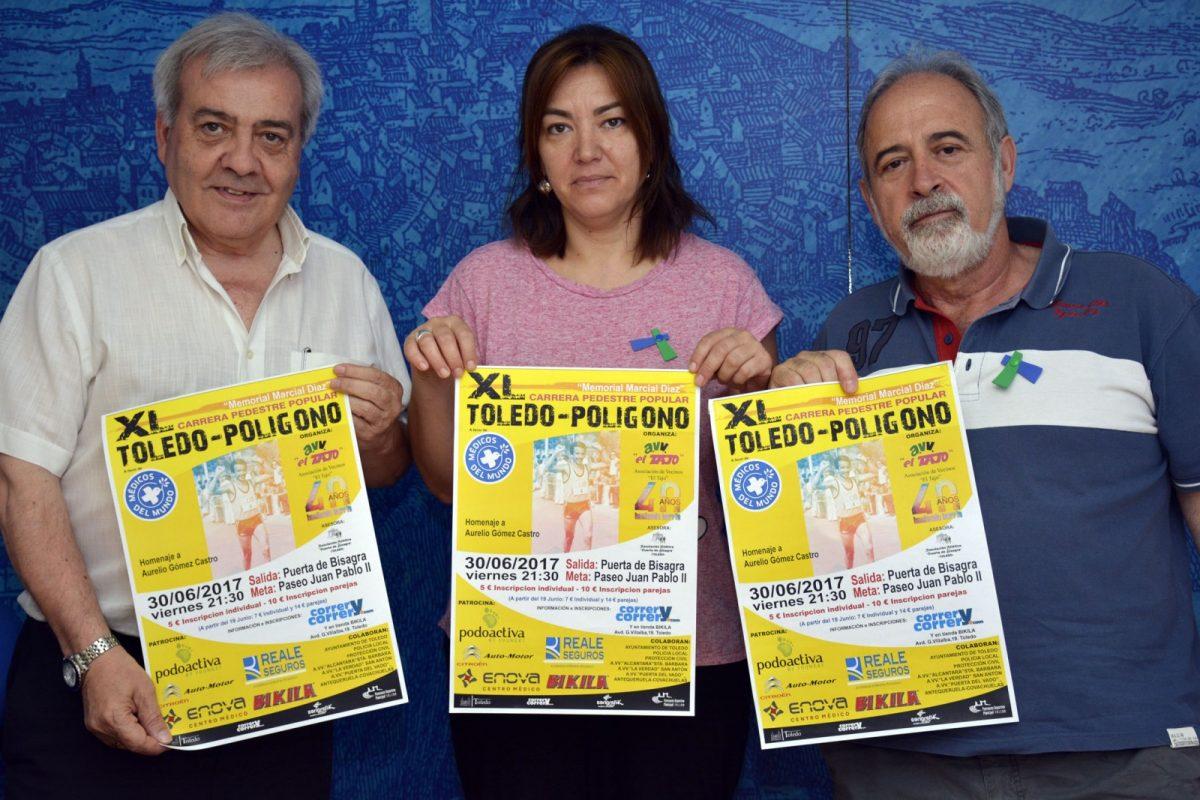 http://www.toledo.es/wp-content/uploads/2017/06/carrera_poligono-1200x800.jpg. El próximo viernes se celebra la Carera Bisagra-Polígono, que cumple 40 años y rendirá homenaje a Aurelio Gómez Castro