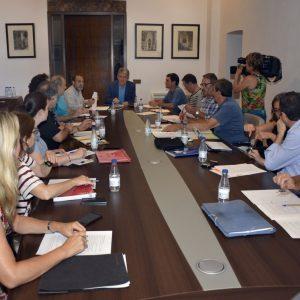 l Pacto por el Tajo estudia las prioridades para la integración del río a su paso por Toledo que se trasladarán a la CHT