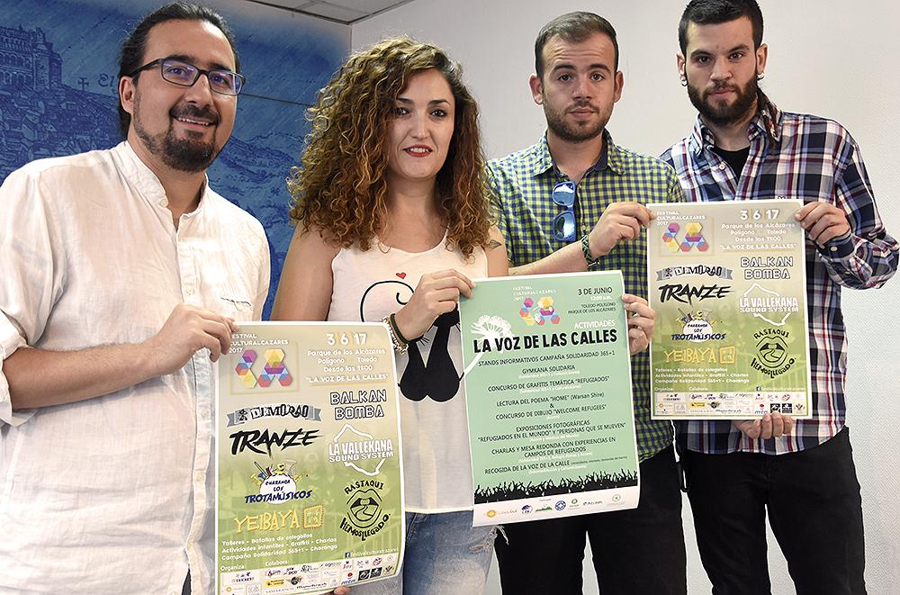 http://www.toledo.es/wp-content/uploads/2017/06/culturalcazares.jpg. La IV edición del Festival 'Culturalcázares', el 3 de junio, será uno de los broches de oro del programa juvenil 'Entre Lunas'