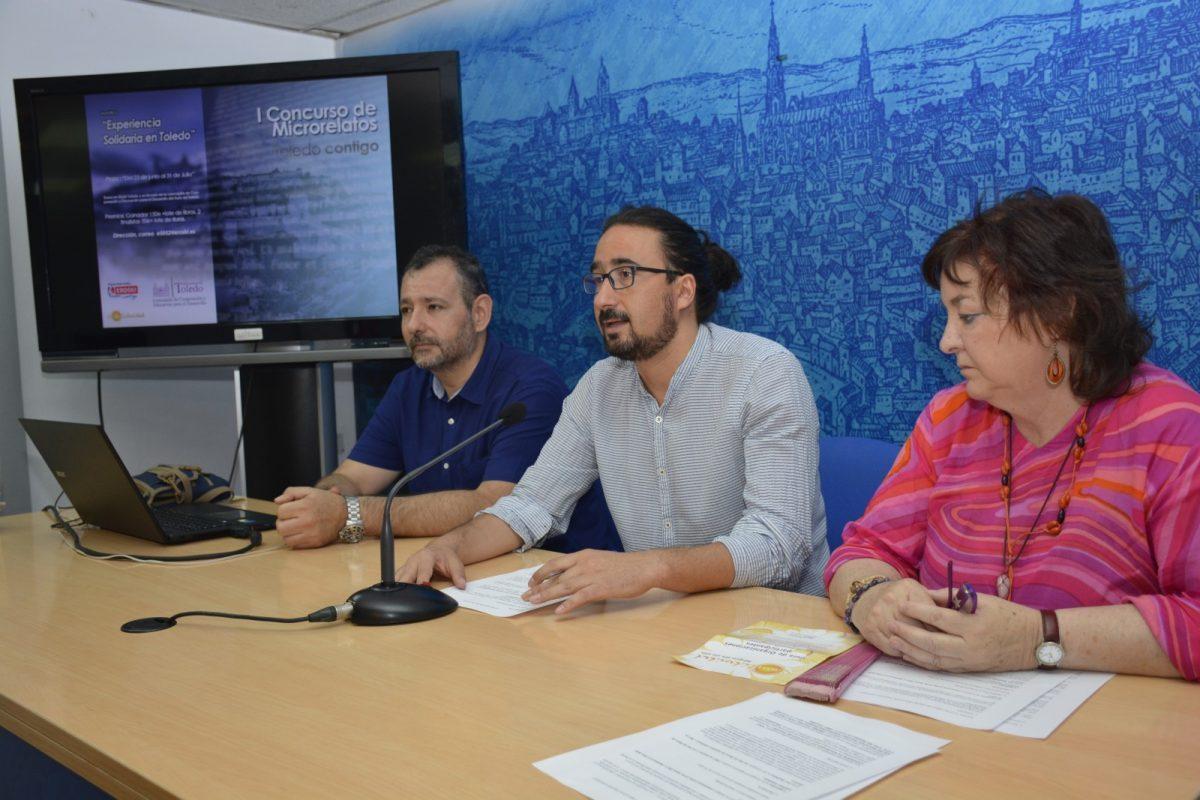 http://www.toledo.es/wp-content/uploads/2017/06/dsc3790-1200x800-1-1200x800.jpg. Ayuntamiento y Eroski convocan el I Concurso de Microrrelatos 'Toledo Contigo'