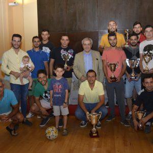 San Marcos acoge la entrega de trofeos de la temporada 2016/2017 de la Liga Municipal Soliss Fútbol 7 Toledo